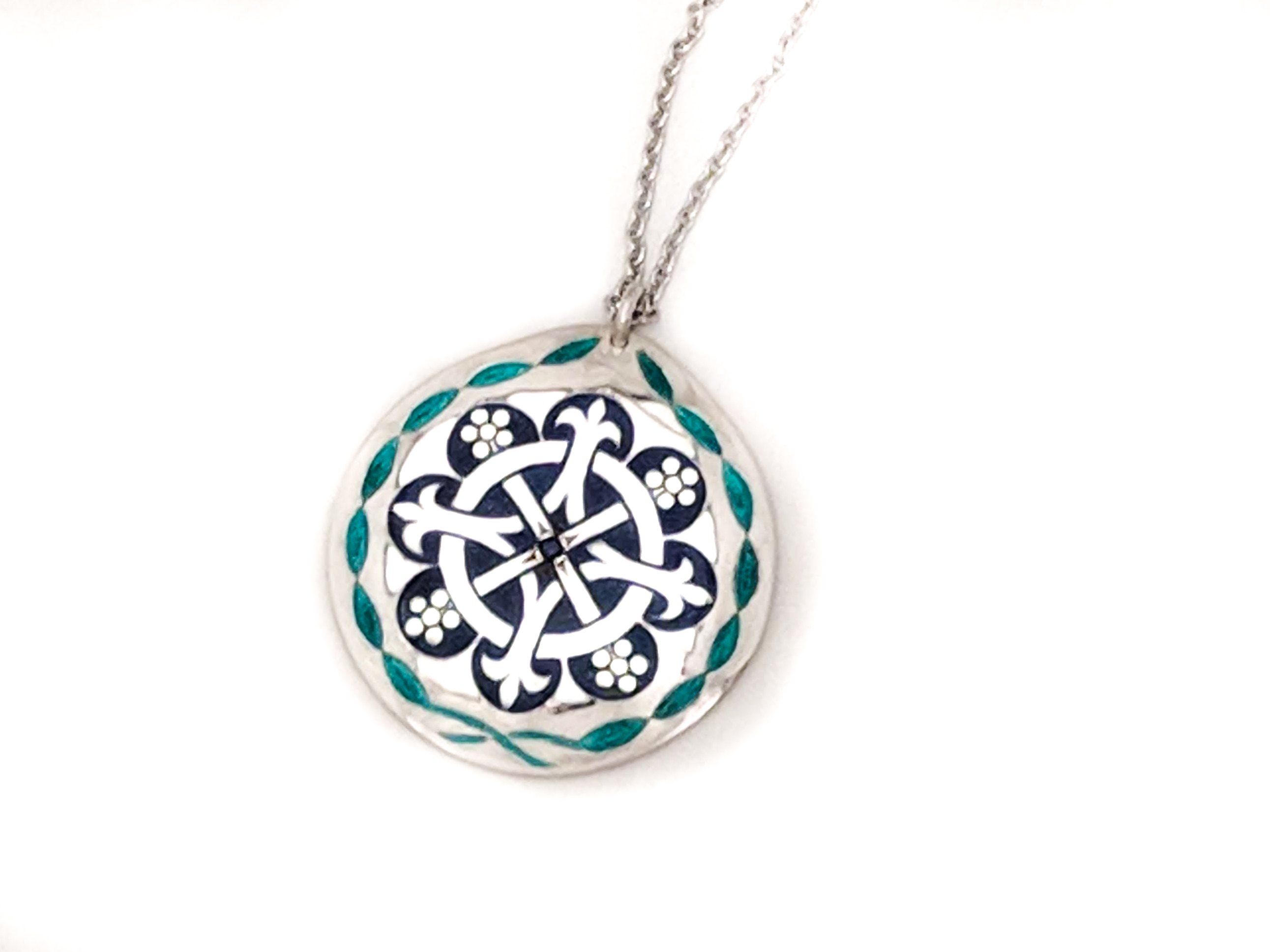 Picture of enameled Pendant